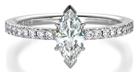 ドジルパヴェ婚約指輪
